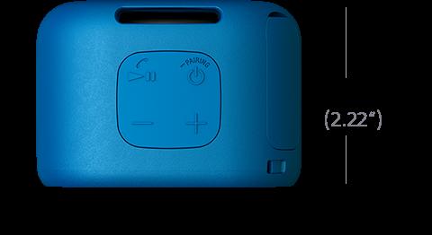 Afbeelding van XB01 draagbare BLUETOOTH®-speaker met EXTRA BASS™