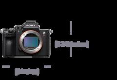 Afbeelding van α7R III 35 mm full-frame-camera met autofocus