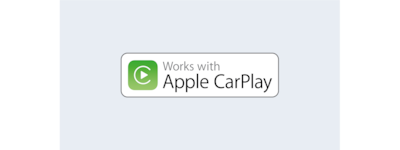 Logo van Apple CarPlay