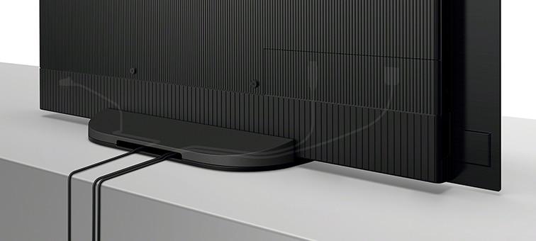 Kabels netjes weggewerkt