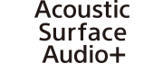 Logo Acoustic Surface Audio+