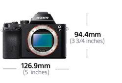 Afbeelding van ILCE-7 Full-Frame Mirrorless Pro-Camera