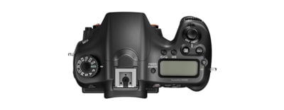 Afbeeldingen van α68-camera met A-bevestiging en APS-C-sensor