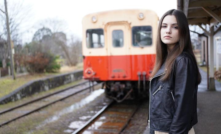 Portretfoto van een vrouw