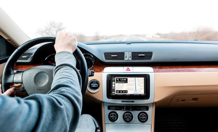 Navigeren met Apple CarPlay