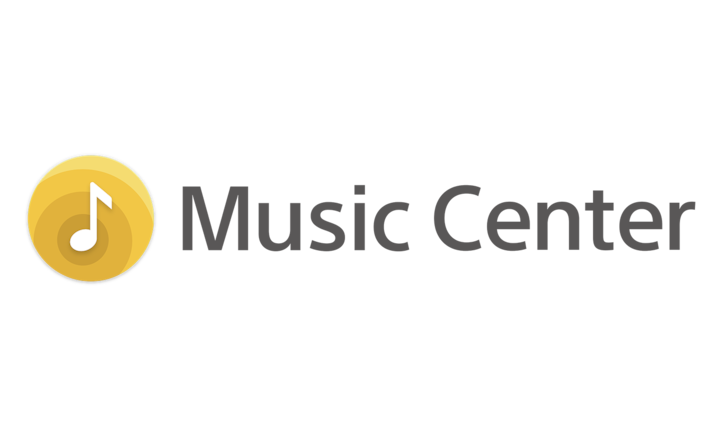 Logo voor Sony | Music Center