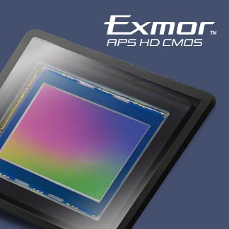 EXMOR® APS HD CMOS-sensor met 20,1 MP