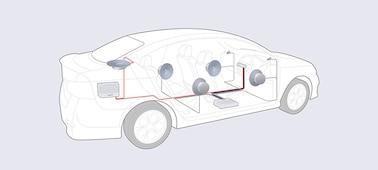 Afbeelding van DAB media-ontvanger van 22,7 cm (8,95 inch) met Bluetooth®
