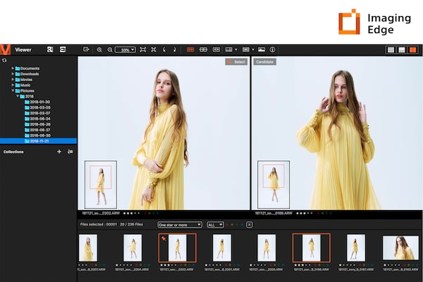 Imaging Edge™ Remote, Viewer, en Edit
