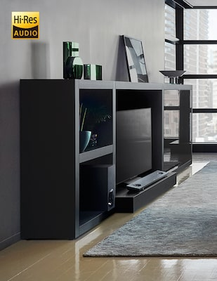 Soundbar voor hi-res audio
