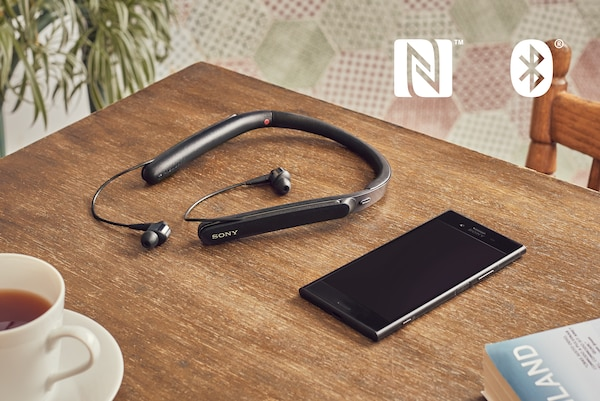 WI-1000X NFC en BLUETOOTH®