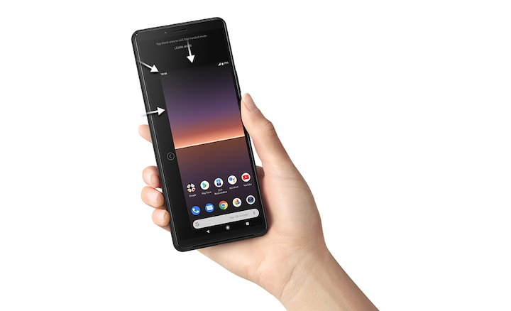 Xperia 10 II met mini-display